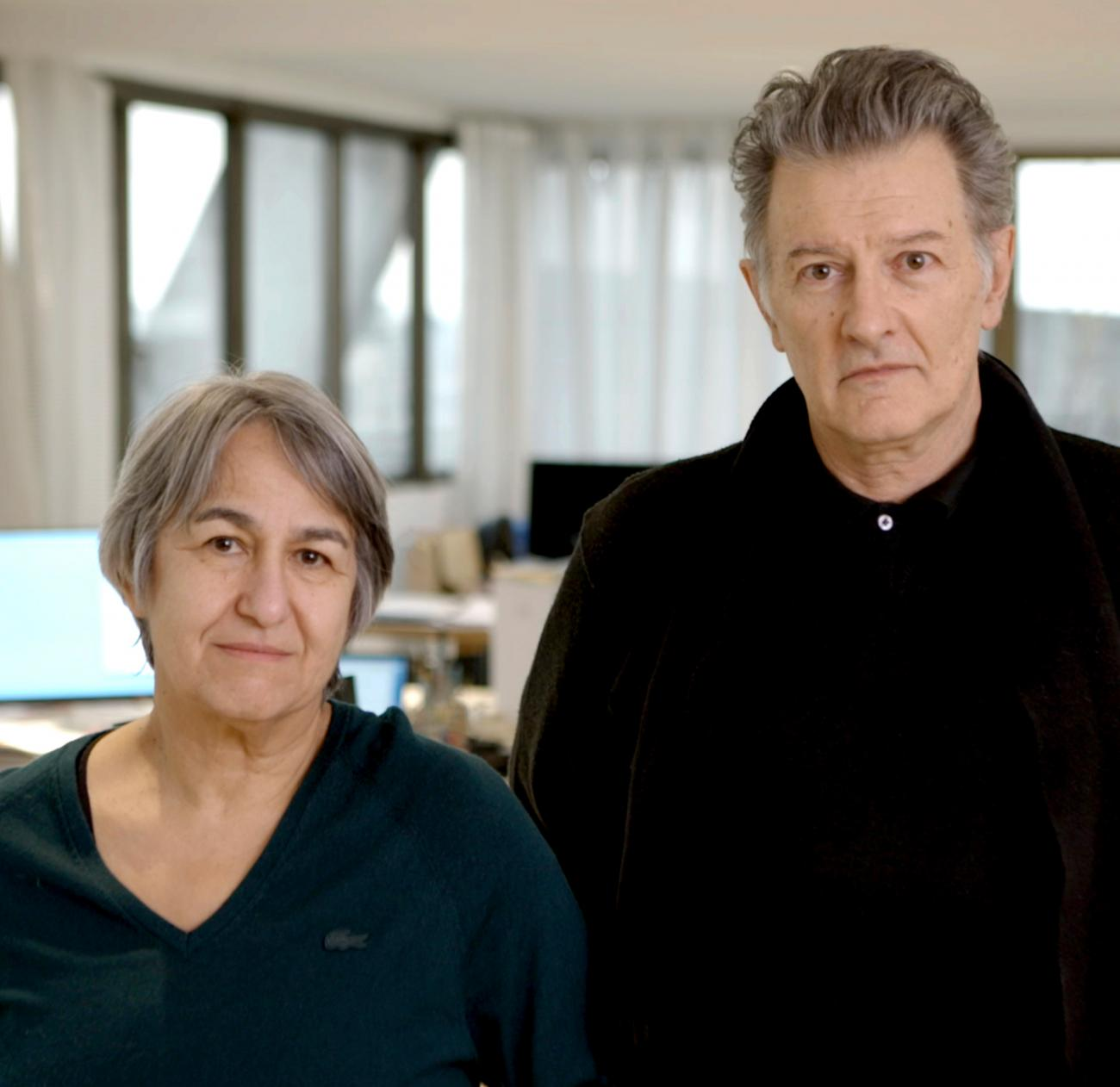 Anne Lacaton and Jean-Philippe Vassal, photo courtesy of Laurent Chalet